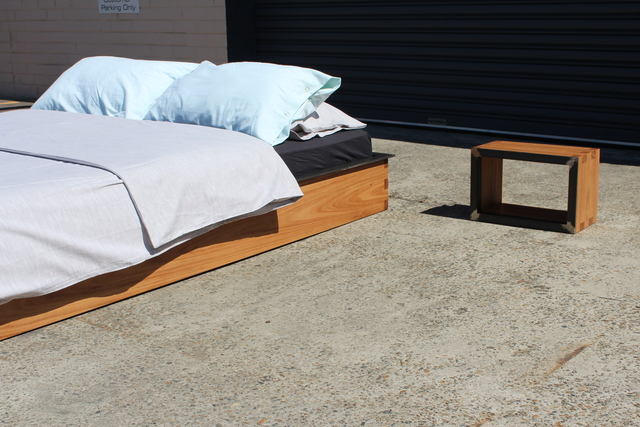 dedo bed by Sebastian Kopiec - Reclaimed, Sustainable, Timber, Steel, Build To Last