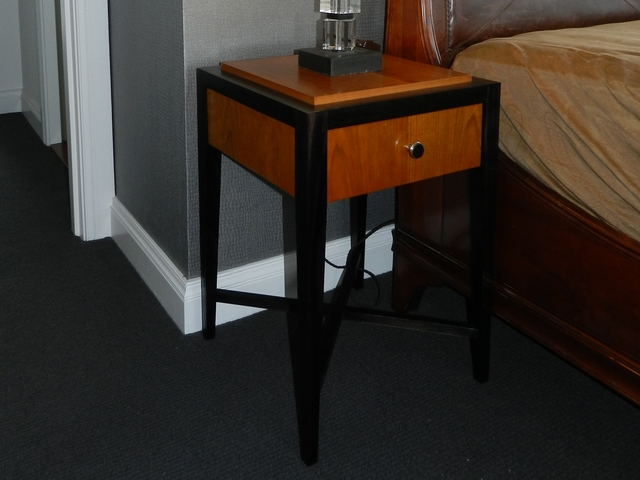Bedside Table by Precision Cabinetmaking - Bedside Table, American Cherry