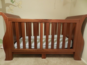 Baby's Cott by Precision Cabinetmaking - Sapele, Cott