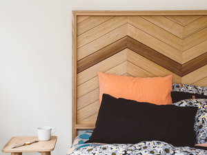 Millie Bedhead by Leÿer - Bed Head, Timber Bed Head, Timber Bed, Bedroom Furniture