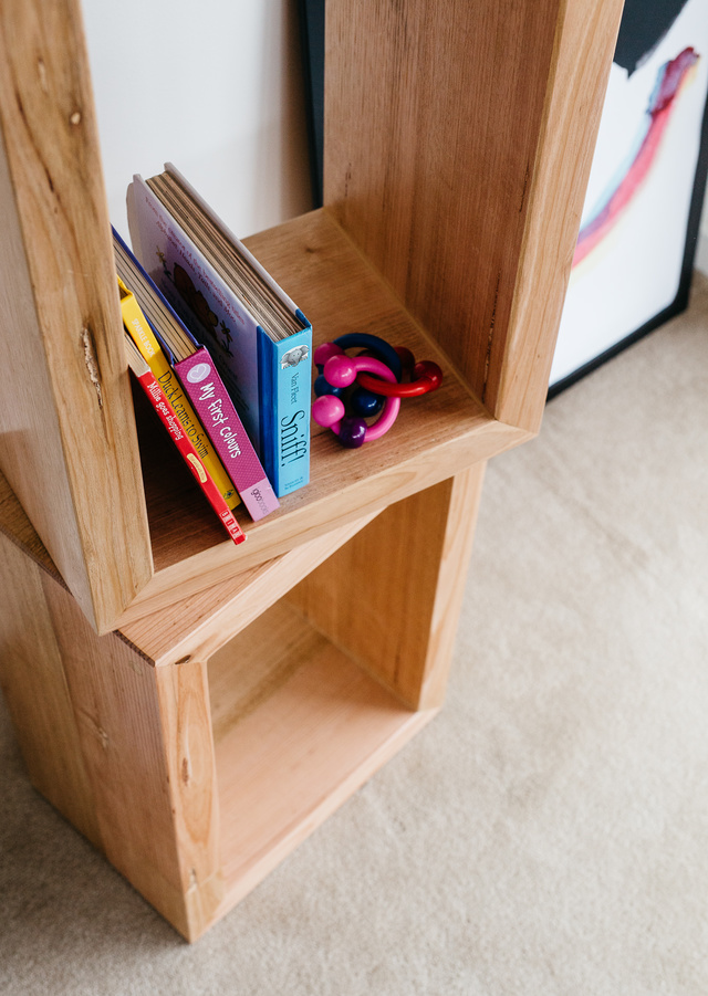 JG Box Head by Leÿer - Bedside Table, Book Shelf, Timber Table, Timber Storage Unit, Side Table