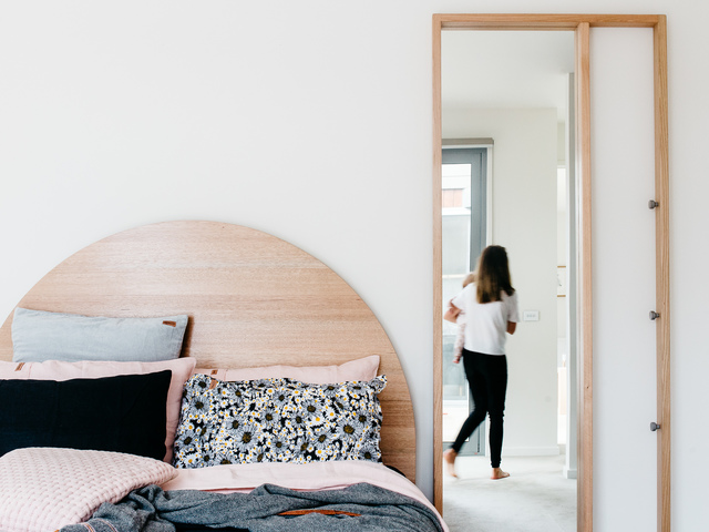 The Layback Mirror by Leÿer - Timber Mirror, Hall Mirror, Bedroom Mirror