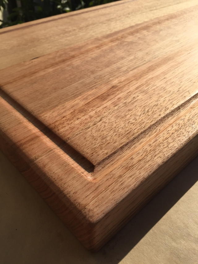 large Chopping Block by Gregory Allan - Chopping Block, Solid Hardwood, Sustainable, Tasmanian Oak, Serving Board, Handmade, Olive Oil, Coconut Oil