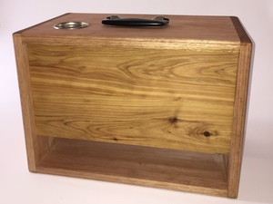 Hard Wood Amp Head by Gregory Allan - Amp Case, Hardwood, Sustainable, Guitar Head, Hand Made