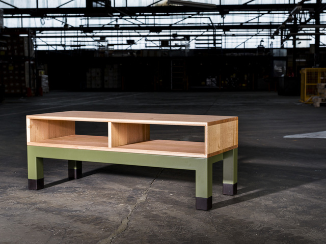 FLIGHT SERIES : Entertainment Console by GLENCROSS FURNITURE - Entertainment Console, Coffee Table, Custom Made, Tasmanian Oak, Australian Timber, Steel, Entertainment Unit