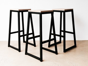 Alibi Bar Stool by Luke Rogers - Bar Stool, Seating, Metal