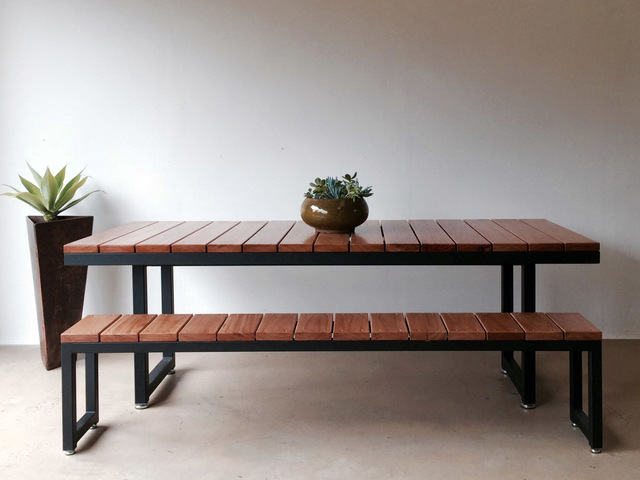 Coogee Outdoor Table by Luke Rogers - Outdoor Furniture, Table, Outdoors, Powerdercoated Steel Frame