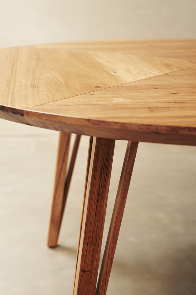 Panorama Round Table by Auld Design - Table, Dining Table, Round Table, Hairpin Legs, Handmade, Auld Design