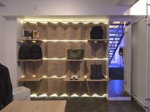 Folded Shop by Tomoya & Co. - Interior Design, Shop Fitout, Retail Design