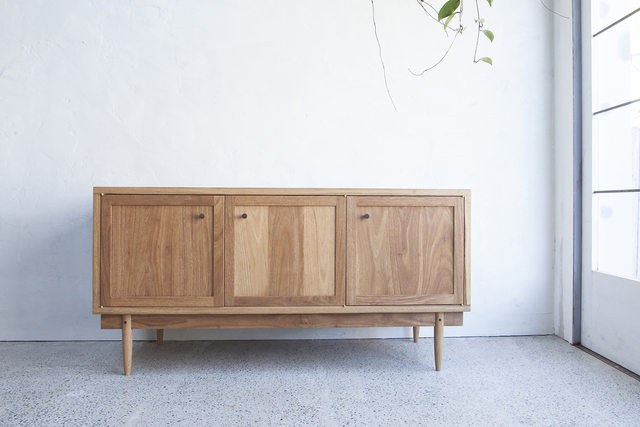 The Ned Sideboard by Jonathan West - Sideboard, Tallowwood, American Walnut