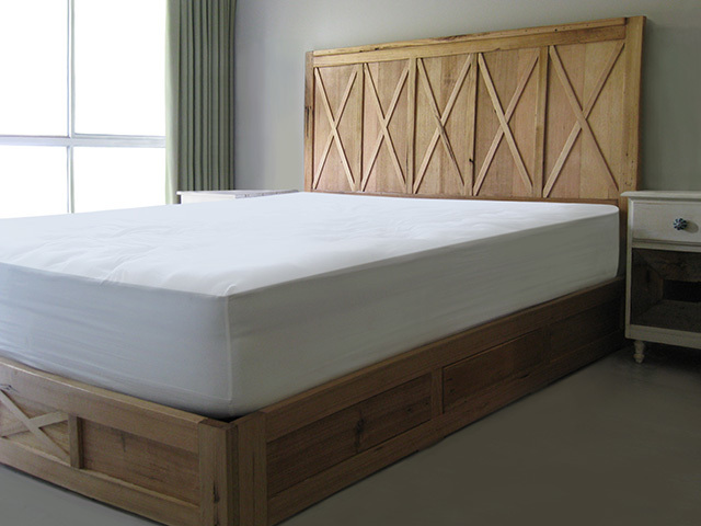 French Provicial Bed with Drawers by Peter Wenborn - French Provincial, Bed, Storage, Recycled Timber