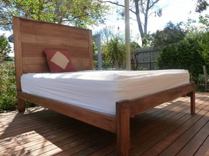 Kurrajong Bed by Peter Wenborn - Bed, Sustainable Timber