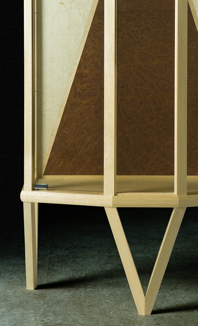 Melodie Collectors Cabinet by John Gallagher - Display, Cabinet, Collectors, Storage