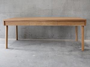 American Oak Desk  by West Wood Melbourne - West Wood Furniture, American Oak, Desk, Brass