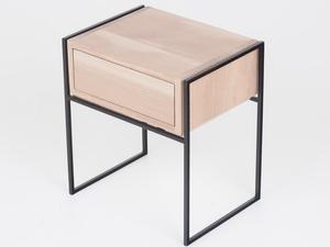 Bedside Drawer by Heimur - Bedside, Bed, Table, Drawer, Storage