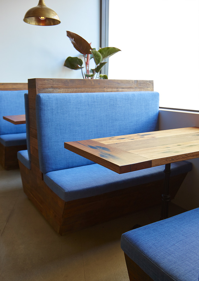 Booth Seats by Queen & Crawford - Cafe Seating, Booth Seat, Restaurant, Hospitality, Reclaimed