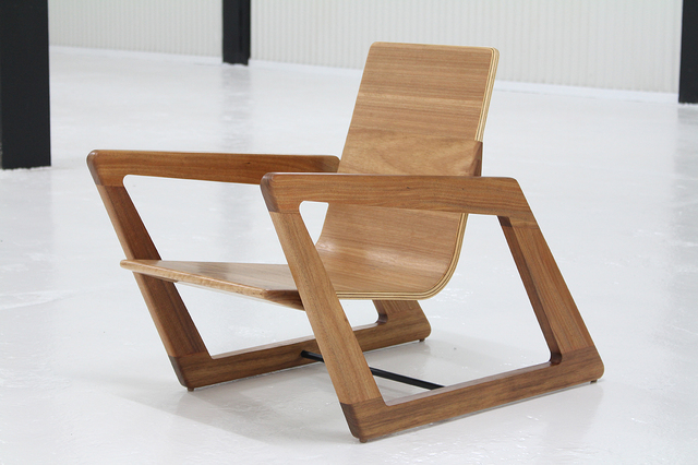 PSA2 by David Cummins - Armchair, Sustainable, Handcrafted, Contemporary, Tasmanian Blackwood, Blackbutt