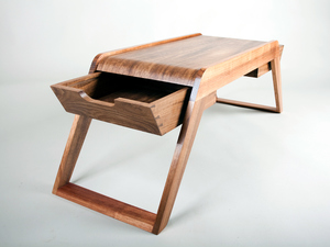 Bridge coffee table by David Cummins - Coffee Table, Sustainable, Handcrafted, Contemporary, Blackbean, Tasmanian Blackwood