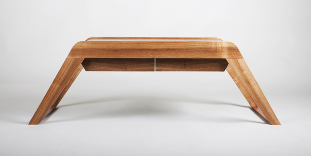 Bridge coffee table by David Cummins - Coffee Table, Sustainable, Handcrafted, Contemporary, Blackbean, Tasmanian Blackwood