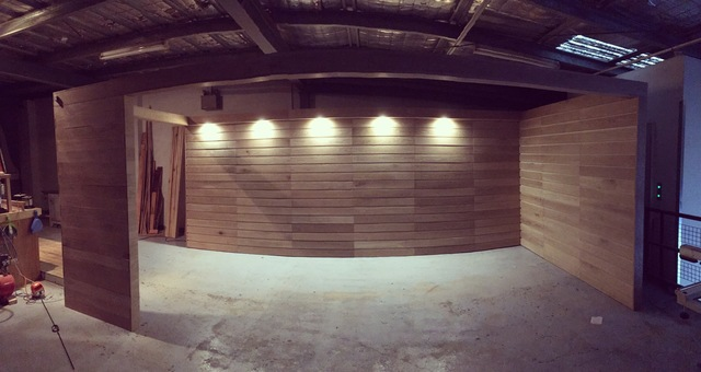 Custom Exhibition Booth by Niall Little - Customjoinery