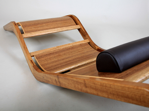 Dianne chaise longue by David Cummins - Chaise Longue, Seating, Blackbean, Spotted Gum, Contemporary, Sustainable, Handcrafted