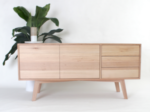 Riccardi Buffet by Jake Williamson - Victorian Ash, Buffet, Scandinavian, Design, Credenza, Sideboard, TV Unit