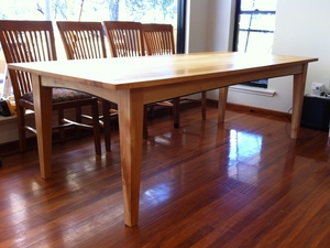 Huon Pine Dining Table by Andrew Blake - Dining Table, Huon Pine, Table, Recycled Timber