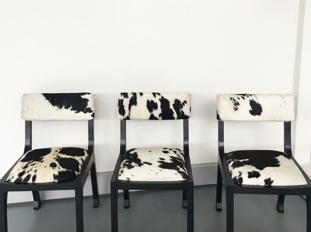 The Spanish Chair by Victoria Keesing Furniture Design - Spanish Chair, Chair, Spanish, Cow Hide, Leather, Studded, Contemporary, Seating