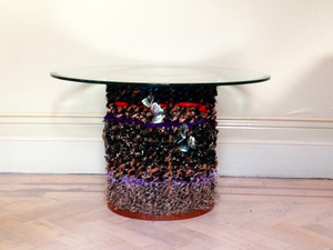 Magpies Nest  by Victoria Keesing Furniture Design - Glass, Coffee Table, Magpie, Nest, Mixed Material, Wood, Table