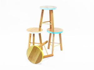 Calypso Stool Tall & Small by Beeline Design - Stool, Seating, Side Table, Bar Stool