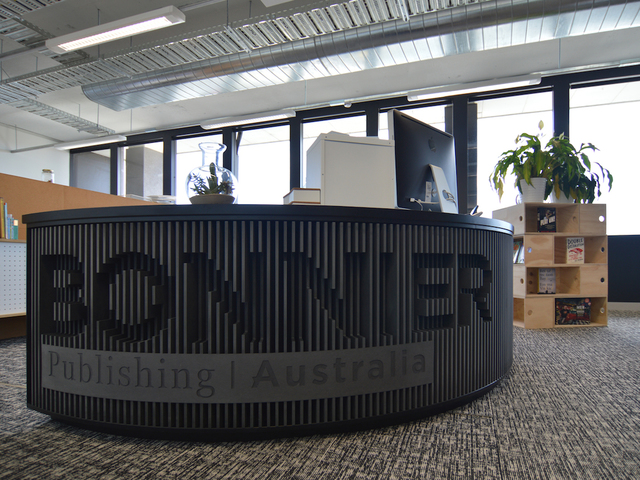 Curved Counter by Tomoya & Co. - Counter, Custom, Reception Desk