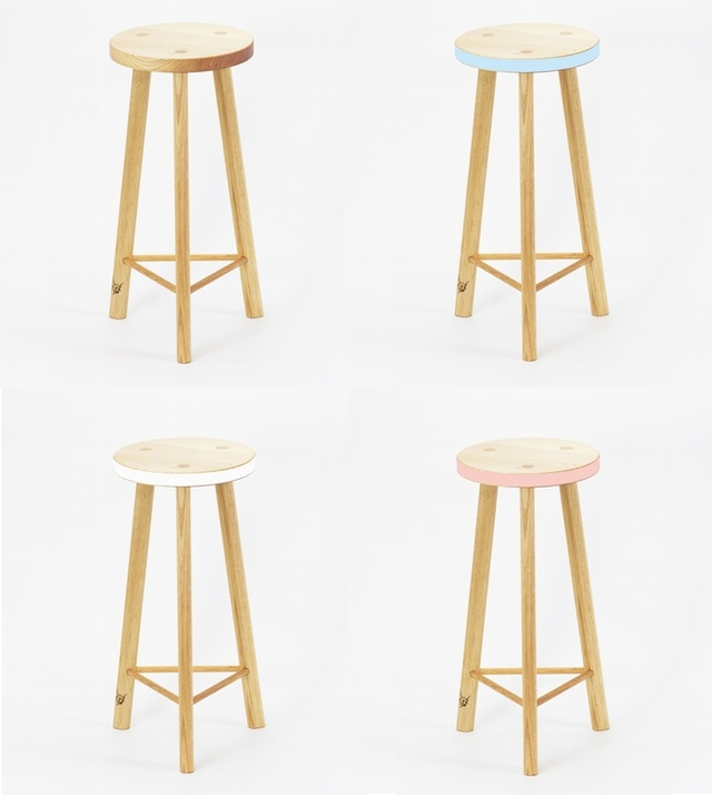 Calypso Stool Tall & Small by Beeline Design - Stool, Seating, Side Table, Bar Stool