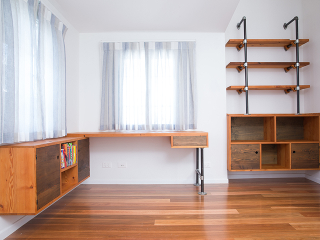 West End Nooks by Backwoods Original - Desk, Bookshelf, Table, Wall Mounted Shelving, Pigeon Holes, Pipe Shelving, Shelving, Drawers