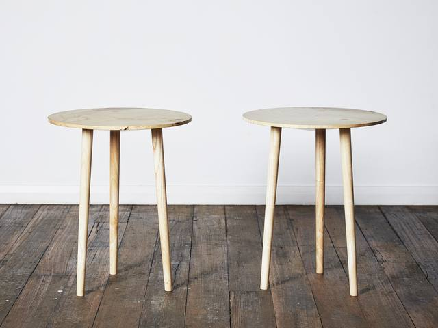 Stilted by Rolf Barfoed - Stool, Table, Tripod, Round, Disc
