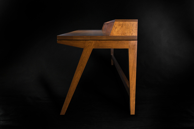 Cherry On Top Desk by makimaki Furniture Works - Desk, Cherry, Stain, Table, Brisbane