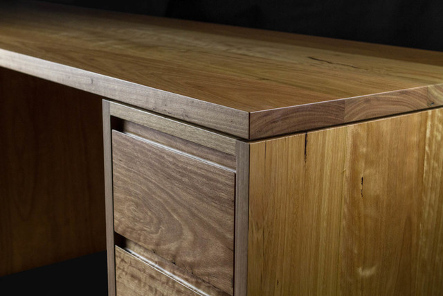 Waterfront Desk by makimaki Furniture Works - Desk, Storage, Recycled, Timber, Brisbane