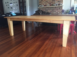 Huon Pine Dining Table by Andrew Blake - Dining Tables, Huon Pine