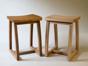 The Rocker Stool by Bailey Mcfarlane  - Stool, Rocking Stool, Rocking Chair, Ergonomics, Seating
