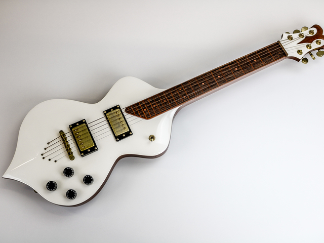 Lap Steel Guitar by Pedullá Studio - Mahogany, Slide Guitar, Hardware, Custom