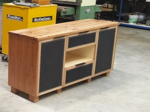 Entertainment unit by Samuel O'Donnell - Entertainment Unit, Storage, Loungroom, Plywood, Solid Timber, Australian Timbers