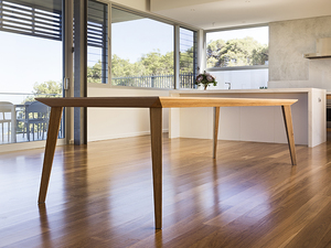 Origami Table by Nathan Day Design - Dining Table, Modern, Leg Room