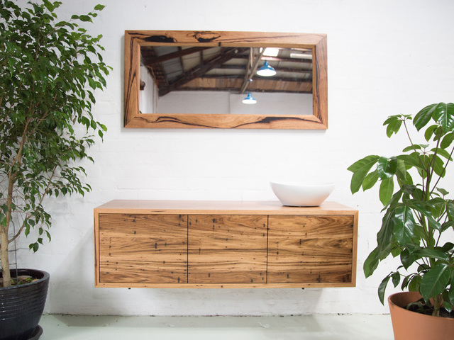 Red Hill Bathroom Vanity by Retrograde Furniture - Bathroom Vanity, Recycled Timber