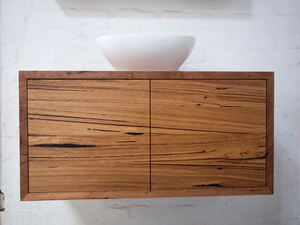 Red Hill Floating Bathroom Vanity by Retrograde Furniture - Bathroom Vanity, Recycled Timber