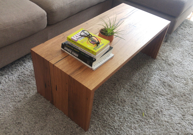 Erins Minimalist Coffee Table by Retrograde Furniture Handkrafted