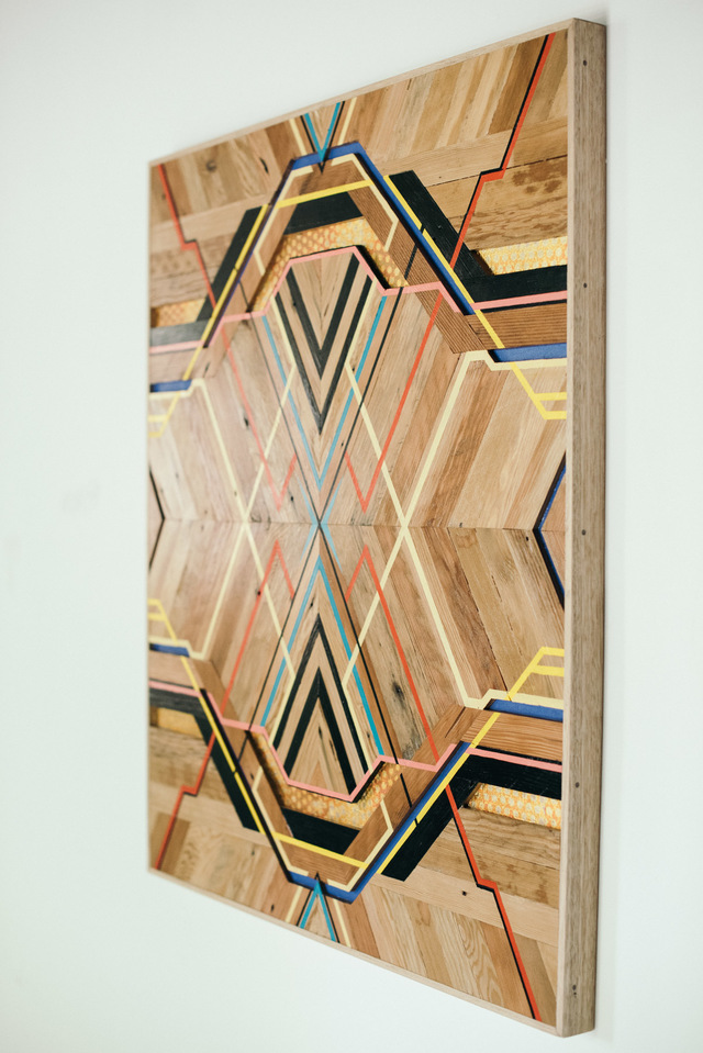Líneas - First by Flitch & Rasp - Art, Wood, Recycled Timber, Reclaimed Timber, Wall Art