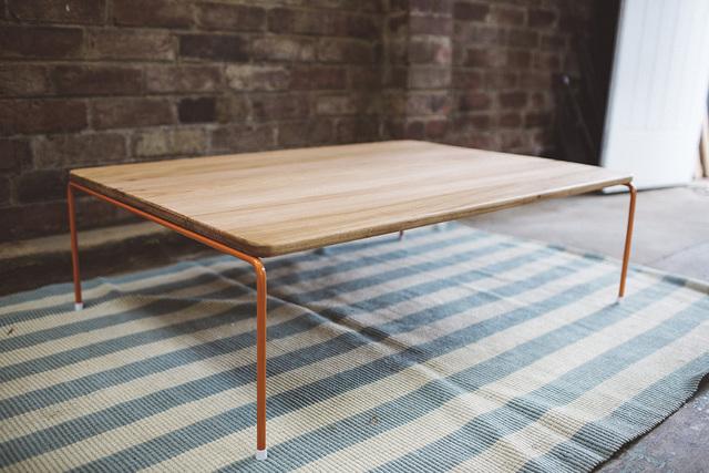 The Maldon Coffee Table by Tom Talevski - Table, Coffee Table, Wood, Steel, Minimalist