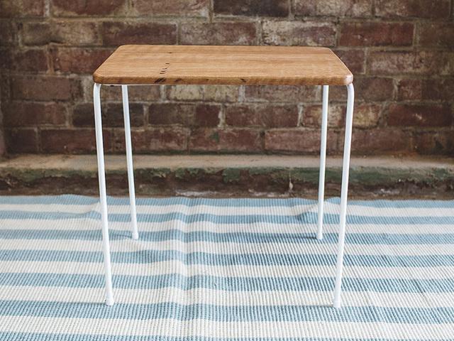 The Maldon Side Table by Tom Talevski - Table, Sidetable, Wood, Steel, Minimalism