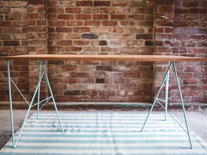 The Cowper by Tom Talevski - Table, Dining Table, Recycled Timber, Wood, Steel