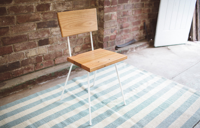The Stanley by Tom Talevski - Chair, Dining Chair, Wood, Steel, Recycled Timber