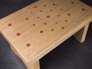 Hexagon Stool by Samuel O'Donnell - Timber, Furniture, Australian Timber, Stool, Step